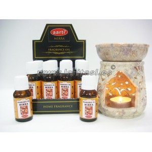Aceite perfumado Aarti Mirra 15ml (pack 12)